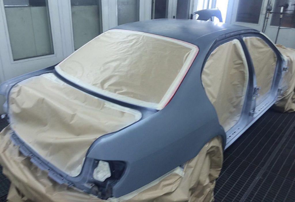 Грунтовка и покраска автомобиля Ниссан