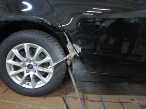 ремонт заднего крыла и двери на форд мондео