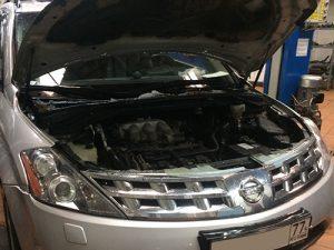 Замена двигателя Nissan Murano