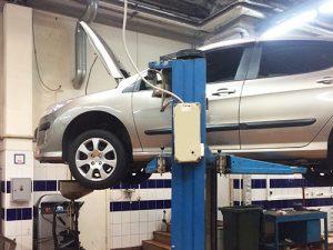 Промывка системы охлаждения двигателя Peugeot 308