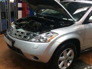 Замена двигателя Nissan Murano в техцентре Auto-Rad