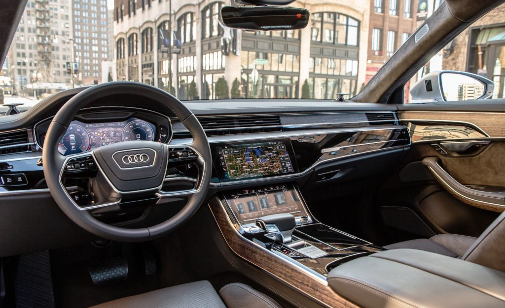 Новая Audi, A8 L 3.0 TSFI quattro