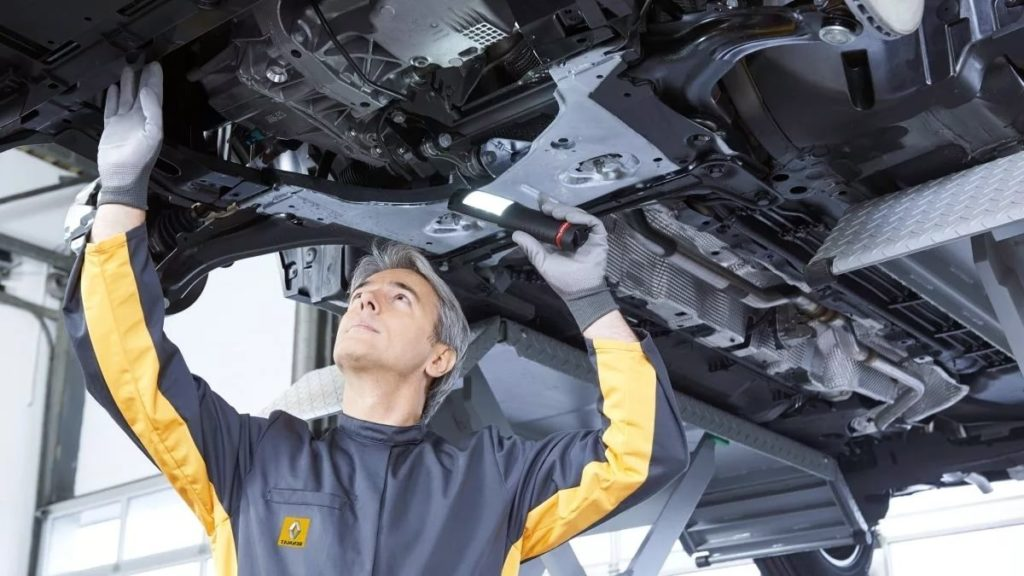 Диагностика и ремонт рулевого управления автомобилей РЕНО